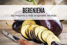Berenjenas time / Sabemos que te gusta comer berenjenas y por eso hemos creado este interesante tablero lleno de recetas hechas con berenjena. Disfruta de los mejores platos con la berenjena de protagonista, rellenas, en salsa, en puré y mucho más... #RecetasGratis #RecetasdeCocina #RecetasFáciles #Berenjenas #Eggplant