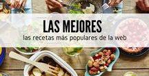 Las mejores recetas / Encuentras las recetas más populares de nuestra web RecetasGratis.net y echa un vistazo a lo que todos quieren aprender a cocinar. En este tablero de comida y cocina encontrarás recetas de todo tipo, desde postres hasta sopas y carnes, no nos privamos de nada. Consulta las mejores recetas y descubre nuevas ideas para mejorar tu menú de cada día. #RecetasGratis #RecetasdeCocina #RecetasFáciles #LasMejoresRecetas #RecetasPopulares