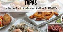Tapas y picoteo / Si tienes una reunión con amigos y no quiere organizar una cena formal, nada mejor que preparar pequeñas raciones de platos deliciosos. En España estos platos se conocen como tapas y son una delicia. En este tablero encontrarás ideas para cocinar tapas y platos para el pica-pica, picoteo o pasapalos, como más te guste llamarlo. #RecetasGratis #RecetasdeCocina #RecetasFáciles #Tapas #TapasOriginales #Pasapalos #Canapés #Aperitivos #TapasEspañolas
