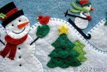 Christmas felting elf / Christmas crafting