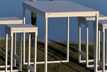 Lunch Collection / Design furniture for indoor and outdoor use. Garden and terrace furniture. Outdoor furniture, outdoor design.