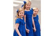 Princesses Amalia, Alexia & Ariane of the Netherlands