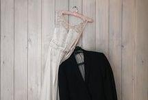 Свадебное платье и костюм / by idea pix