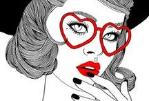 ILLUSTRATIONS / by Very Mademoiselle