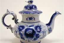 IT'S TEA TIME / TEAPOTS, TEAPOTS, AND MORE TEAPOTS / by Susan Hutchings