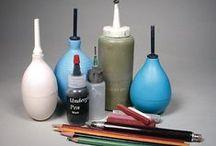 Ceramic studio and tools