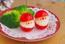 Happy -groente- feestdagen / Verras vrienden en familie met heerlijke kerst-groente-hapjes!