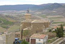 Iglesias y ermitas / Iglesias y ermitas del pueblo navarra de Aibar-Oibar
