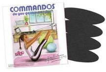 The ORIGINAL Cotton Patches / GoCOMMANDOS®, no more panties! Soothing, cotton/adhesive patch, covers irritating jeans and pants seams when you 'go commando'. www.gocommandos.com