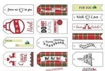Christmas wrap&tags