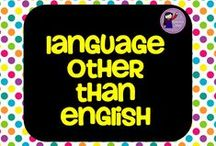 Language Other Than English / ESL resources. Please pin 5 products and 2 nonproducts a day! Thank you!