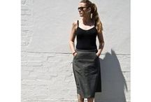 Kelham Inspiration / MIY Collection Kelham A-line skirt sewing pattern - inspiration and makes.
