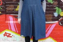 Fulwood Inspiration / MIY Collection Fulwood pull-on shift dress & top sewing pattern - inspiration and makes.