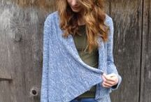 Longley Inspiration / MIY Collection Longley drapey waterfall cardigan sewing pattern - inspiration and makes.