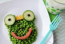 Kids en groente / Maak groente fun met de kids!