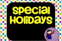 Special Holidays Around the World / Holiday-themed resources and activities from the world over.