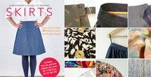 """Beginner Skirts / """"Beginner's Guide to Making Skirts"""" - projects, inspiration and your makes."""