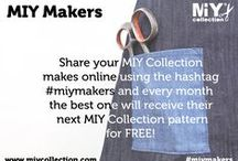 MIY Makers / MIY Collection's monthly MIY Makers sewing challenge.