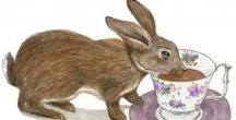 My Drawings / Bouncing bunnies, whimsical animals, humor, realism, but mostly nature. I illustrate children's books and greeting cards, and enjoy using lots of color.