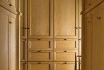 Classical closet room