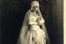 Vintage 20's Bridal / Photos of vintage wedding dresses, as inspiration- but also many very similar to what we carry in our shop!