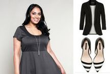 Pretty Plus Size Dresses / Beautiful #plussize dresses!