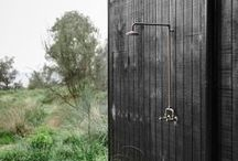 Outdoor. / Different designs of outdoor spaces