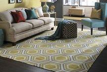 Floor space. / Rugs we love, and floor finishes #design #floor #planning