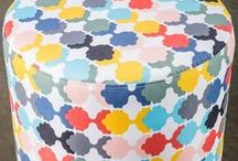 Crazy patterns. / Bold patterns that mix and match.