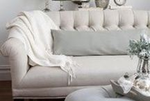 Neutrals. / Paint Colors and Fabric