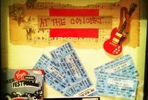 Ways to Display Concert Tickets / Bellco Theatre wants you to get creative.
