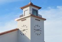 Tower Clocks / A Tower Clock is a clock mounted in or on a designated raised structure. It's a big clock on or in a wall. A Tower Clock makes an instant, positive statement about your community, business or institution.   Your Lumichron clock will become an icon, built to last.  www.lumichron.com