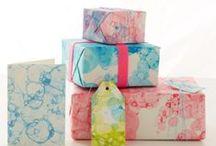G I F T * W R A P P I N G / Add a special touch with beautiful giftwrap / by martina @ Martinka Crystal