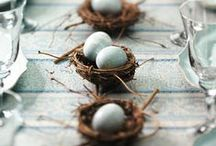 EASTER / Can you find the Easter Egg? Beautiful home decor and tablescape ideas for Easter.
