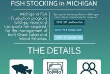 Fish Hatcheries / Want to know what goes on to provide some amazing fishing opportunities? We've got an inside look at Michigan's hatcheries!