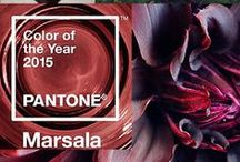 Marsala: Drink In Pantone's Rich Color of the Year / Every year Pantone picks a signature color. For 2015? The hearty yet sophisticated shade of Marsala. Like the fine, smooth wine, Marsala is a classic shade with depth. This is our Marsala 101! Everything you need to know about the color and how to add this delectable shade into your life.