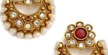 Wedding earrings. / Discover the wide range of exquisite Earrings in Jumkey.