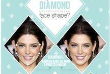 'Face Shape Diamond