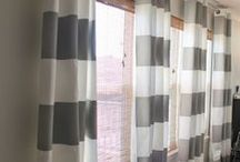 DIY Window Treatments / Great DIY ideas for curtains, blinds, valances and more!