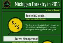 Michigan's Forests / Tips and safety reminders for the prevention of wildfires and information regarding management of Michigan's forests.