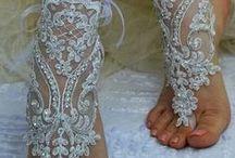 Wedding anklets