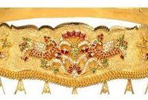 Indian wedding waist belts
