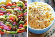 Side Dish Inspiration / Great ideas for easy and fun way to stay healthy and spice things up!