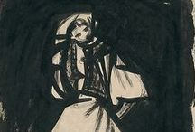 Slovak art / paintings, drawings and graphics