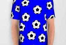 All Over Print Shirts / Impression sur T- Shirt avec des manches courtes et un col rond.