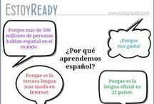 Spanish - EstoyReady / www.estoyready.com - Es una página web para practicar español con lecturas y audios. También contiene material para profesores de español como lengua extranjera (niveles A1 y A2).