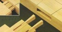 Hout bewerking & techniek / verbindingen, bewerkingen, behandeling van hout tbv meubels, constructies