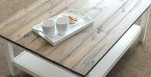 Meubel idee - Tafel / Tafels, salontafels, eettafels, binnen buiten
