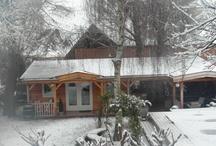 Winter / Fraaie zonsopkomst en sneeuw in Zuid Holland