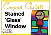 CathFamily Craft / The place to find simple, craft activities with a catechesis point. All activities come with FREE PDF templates and/or instructions.